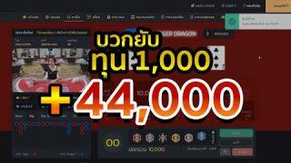 #เสือมังกร ทุน1,000 + 44,000  ใบเดียวรู้เรื่อง