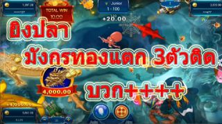 LSM99 เกมยิงปลา ไปตะลุยร่วมความสนุกกับการดูเกมยิงปลา แบบมังกรใหญ่กว่า 60000 บาท